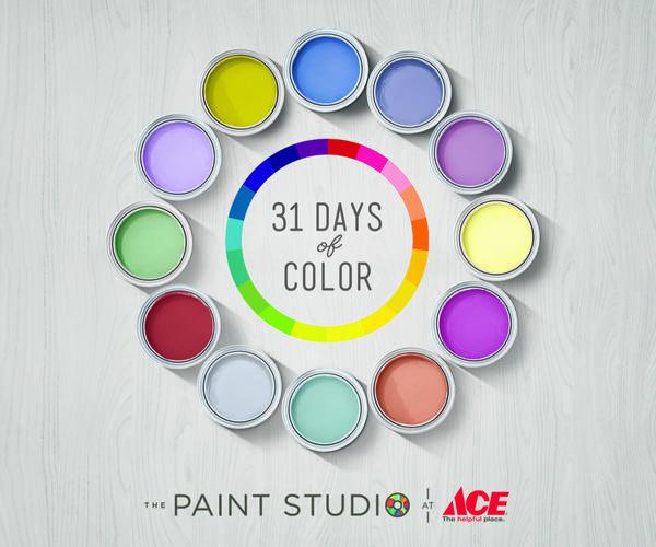 Valspar 31 Days of Color