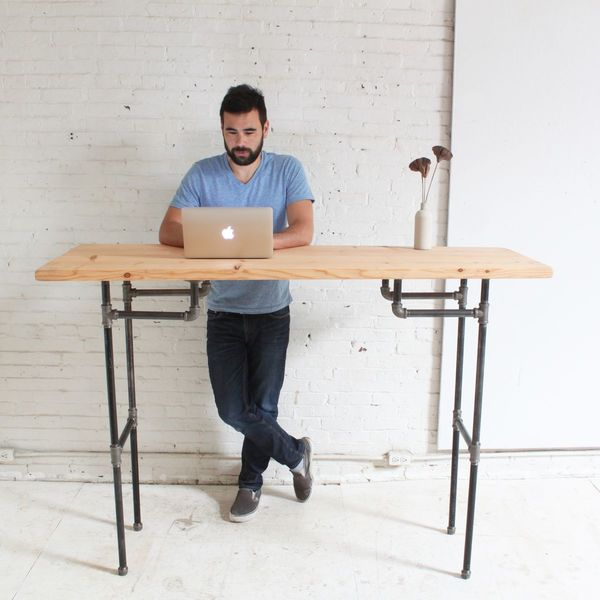 work better 5 diy standing desk projects you can make this weekend rh manmadediy com standing work desk benefits standing work desk height