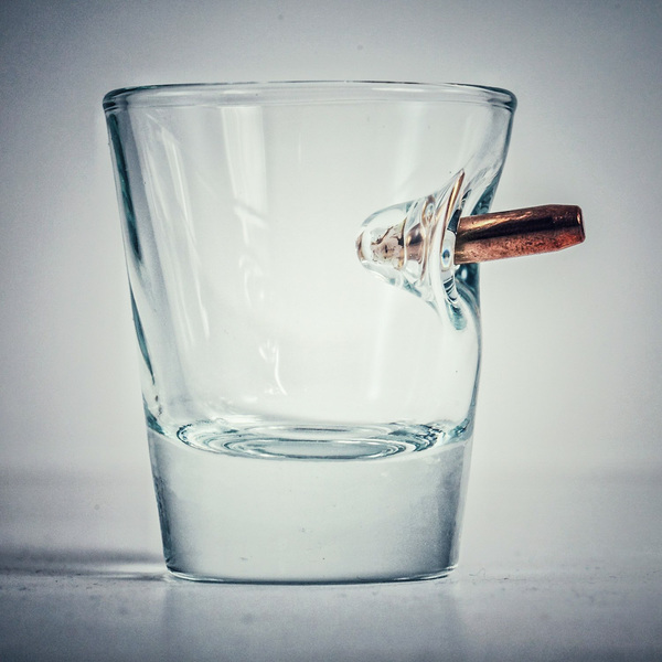 bulletproof shot glass