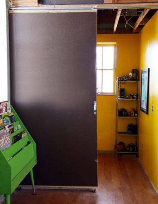 Diy sliding door large