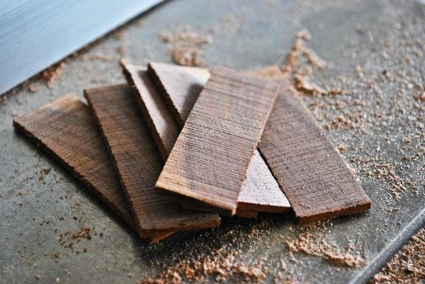Sliced Wood