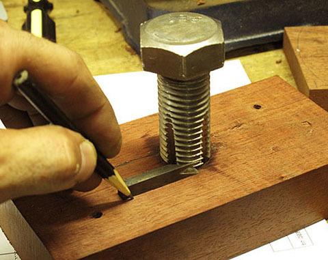 Thread Cutting Jig