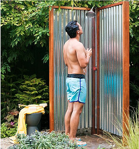 Metal Screen Shower