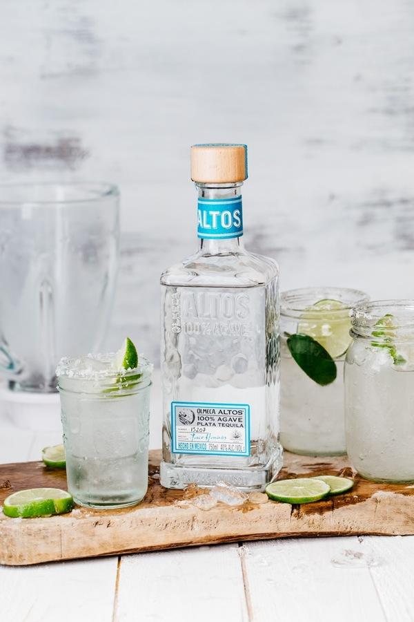 Olmeca Altos Plata tequila margarita