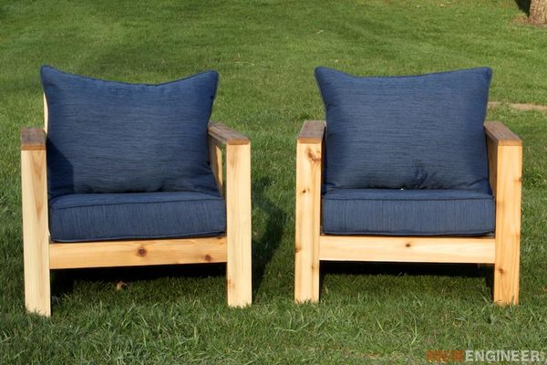 Two Diy Outdoor Chair Projects For Your Yard Or Patio Man Made Diy