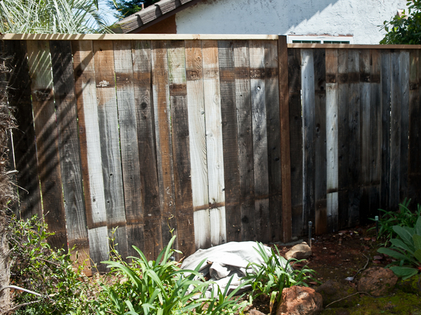 Fence Boards & Old Fence New Life: How to Upgrade that Ratty Fence   Man Made DIY ...