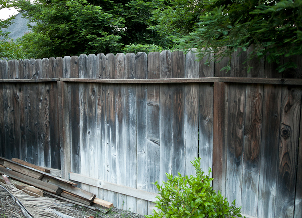 old fence new life how to upgrade that ratty fence man made diy