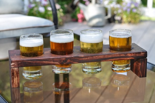 Beer Flight DIY