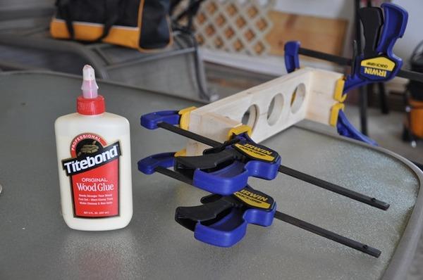 Beer Flight DIY Glue-Up
