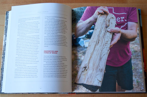 Selecting wood for BBQ