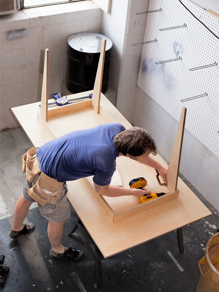 How To Build A Table From A Single Sheet Of Plywood Man