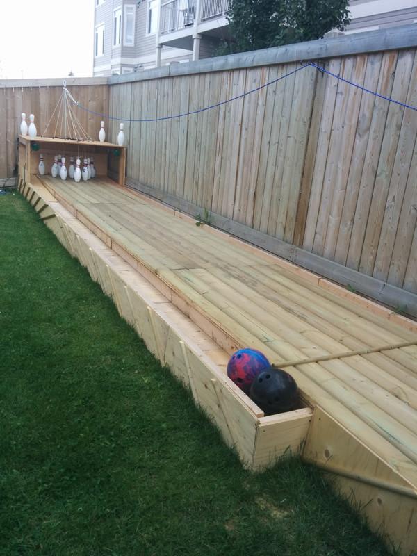 Backyard Bowling Alley