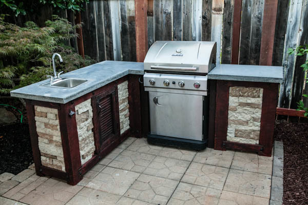 How To Build Your Own Outdoor Kitchen For A Fraction Of The Cost Man Made Diy Crafts For Men