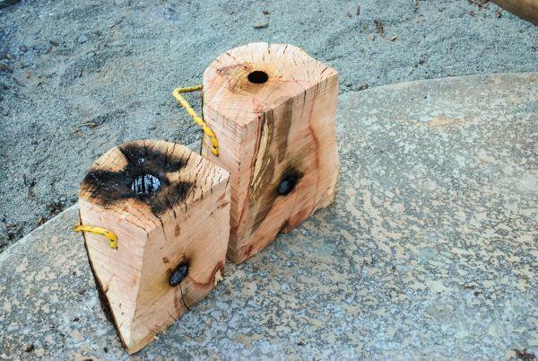 Make This! DIY Wooden Rocket Stove | Man Made DIY | Crafts for Men ...