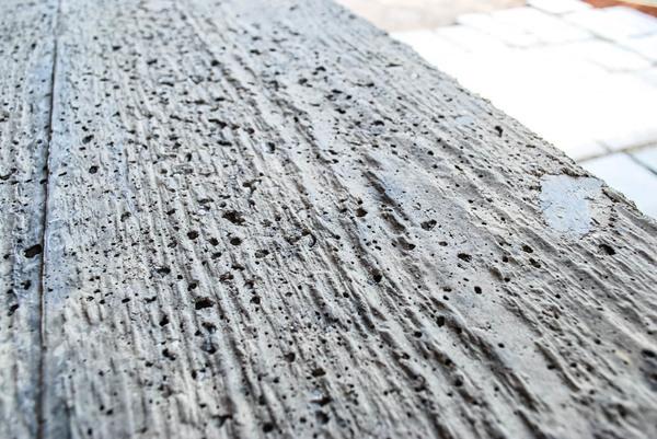 Textured Concrete Top