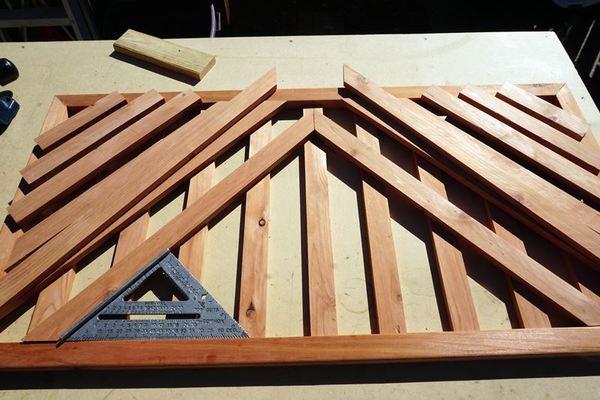 Wooden Door Mat