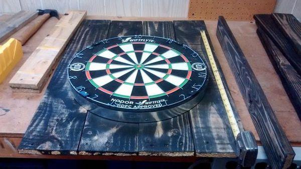 Make This Custom Diy Dart Board Set Man Made Diy Crafts For Men