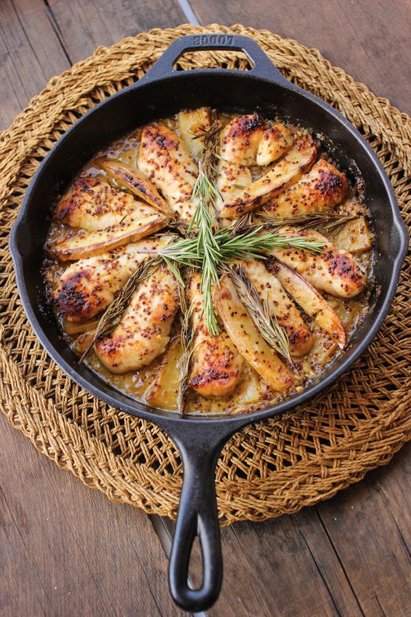Chicken Honey Mustard Rosemary Chicken