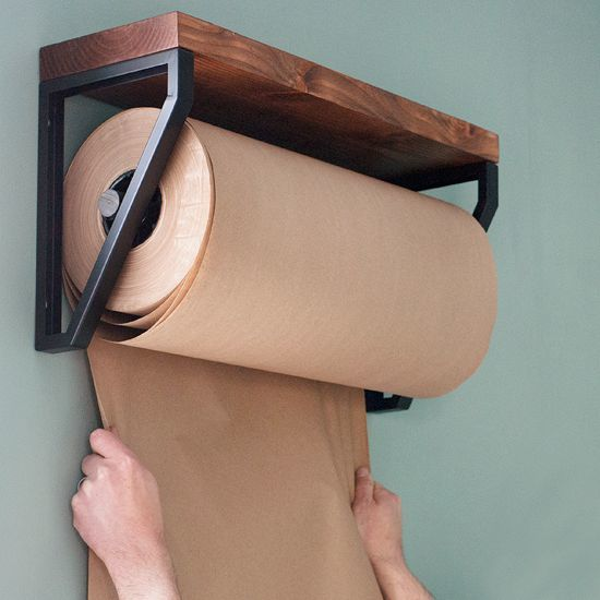 Kraft Paper Shelf
