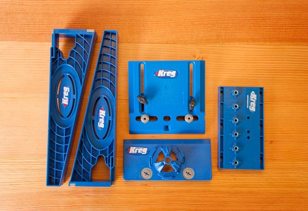 Kreg Jigs: Drawer Slide Jig, Cabinet Hardware Jig, Concealed Hinge Jig, Shelf Pin Jig