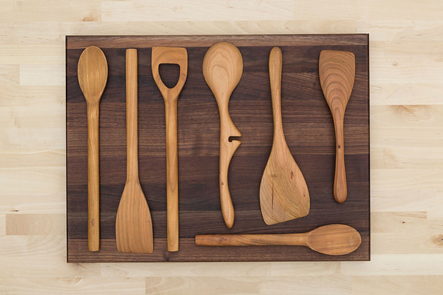 How To Make Your Own Hardwood Kitchen Utensils
