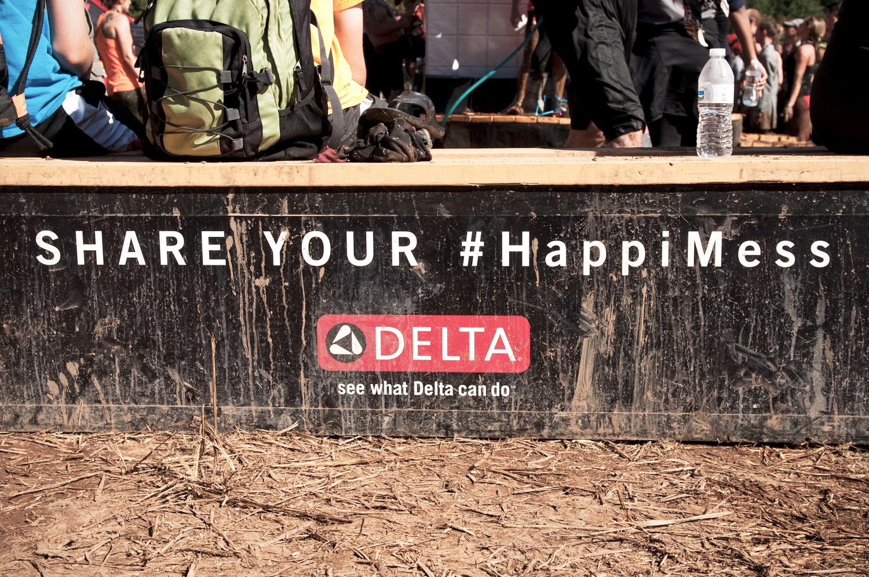 Delta - Warrior Dash 2016 sponsor