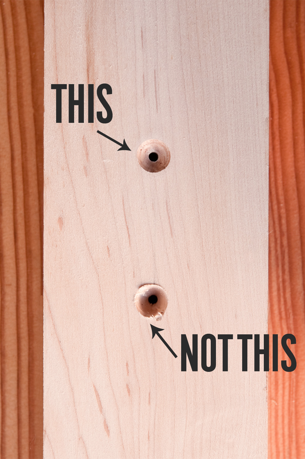 How To Drill Picture Perfect Countersinks Man Made Diy