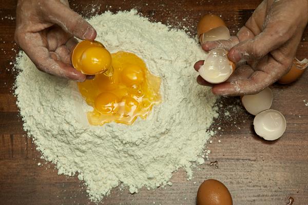 Handmade Pasta Eggs