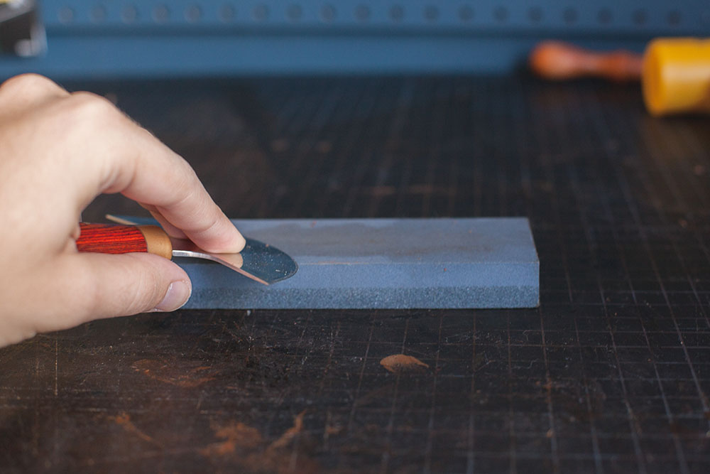 Cutting Leather Step 3