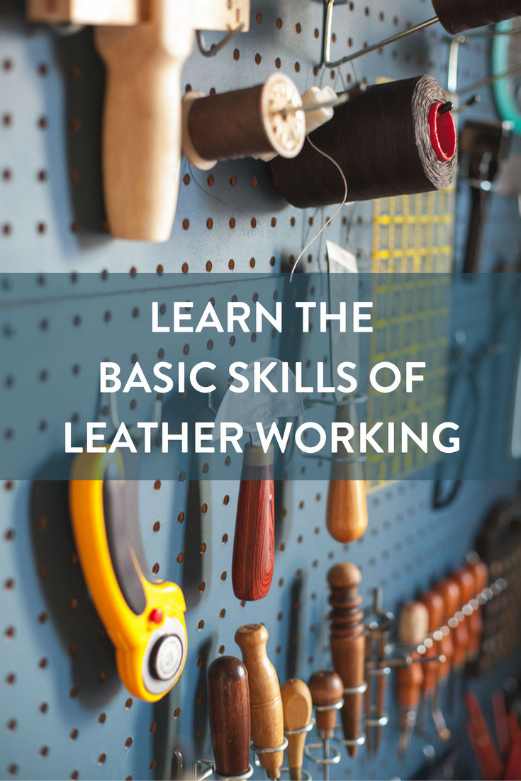 Basic Skills of Leather Working
