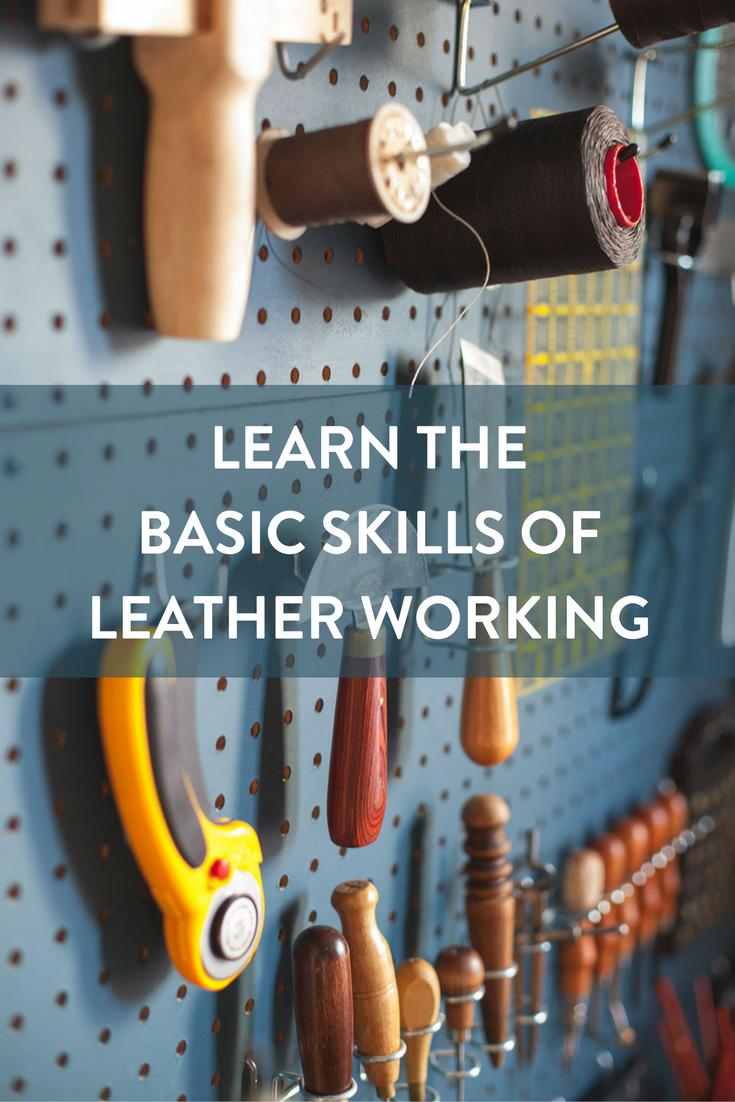 Basic Skills of Leather Working