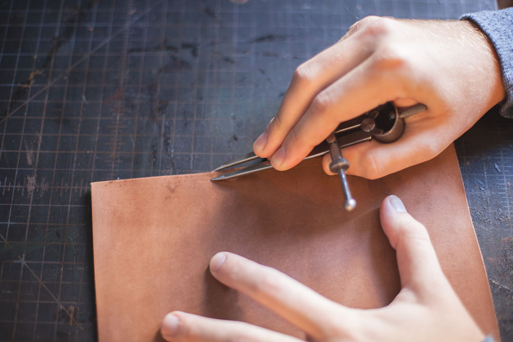 Preping Stitching Step 1