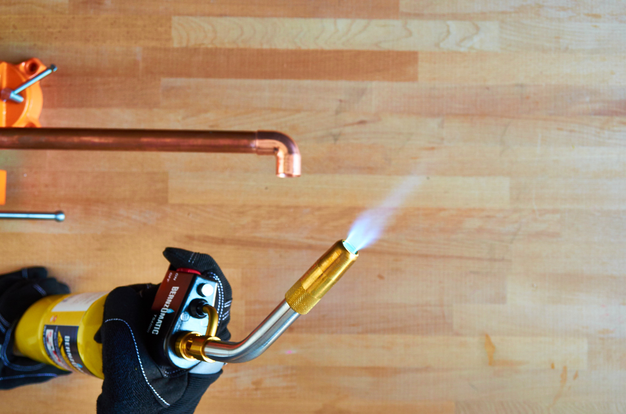 Turn on your blowtorch