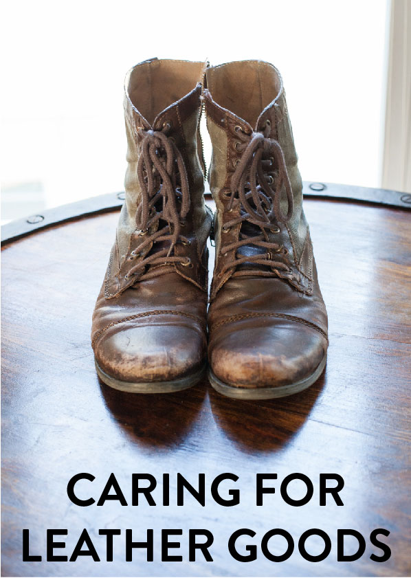 Caring for Leather Goods