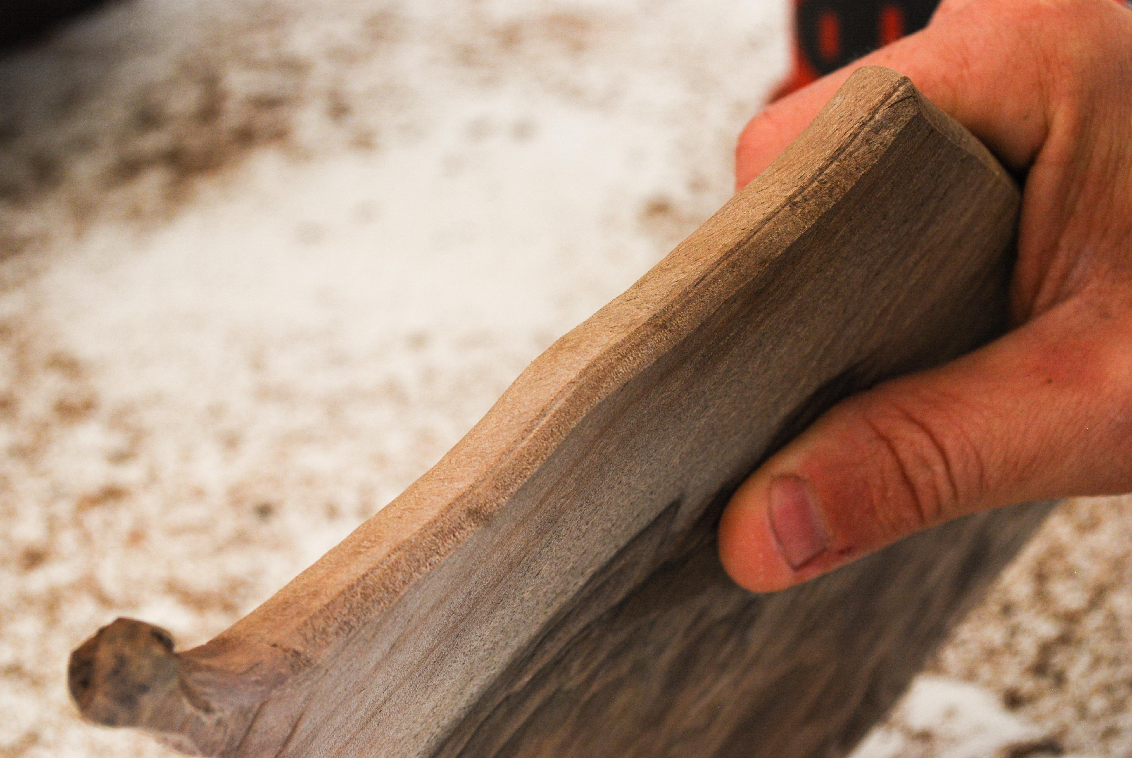 edge sanding