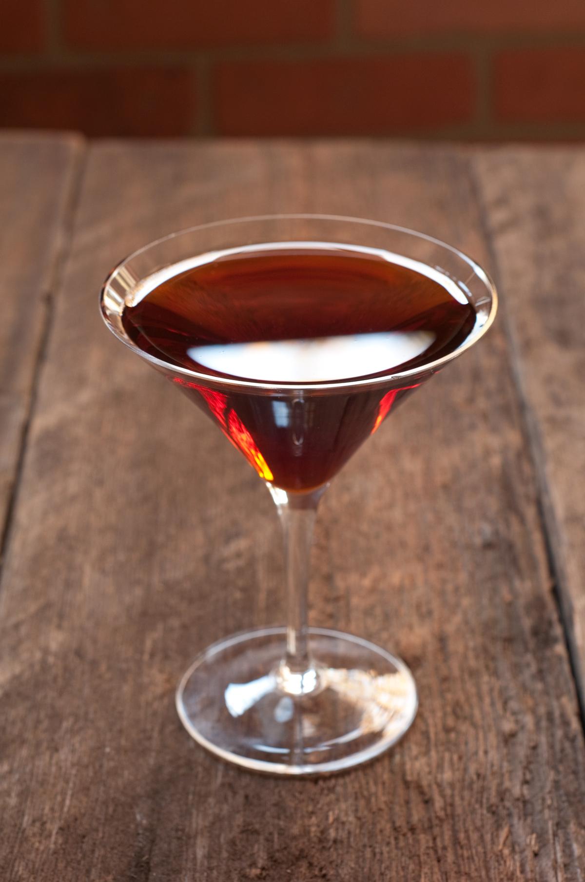 Manhattan cocktail recipe