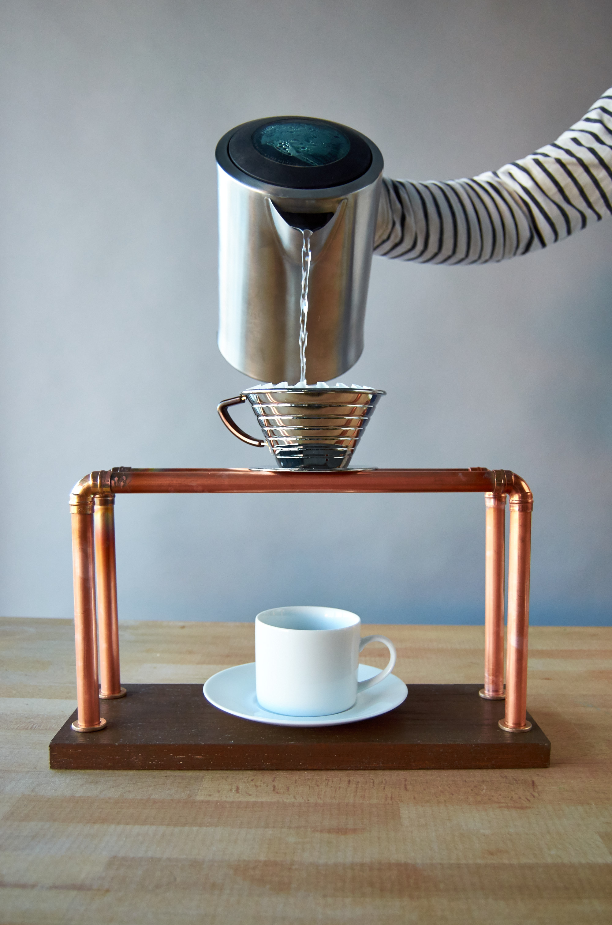 making a diy pour over coffee stand for fun and profit man made diy crafts for men. Black Bedroom Furniture Sets. Home Design Ideas