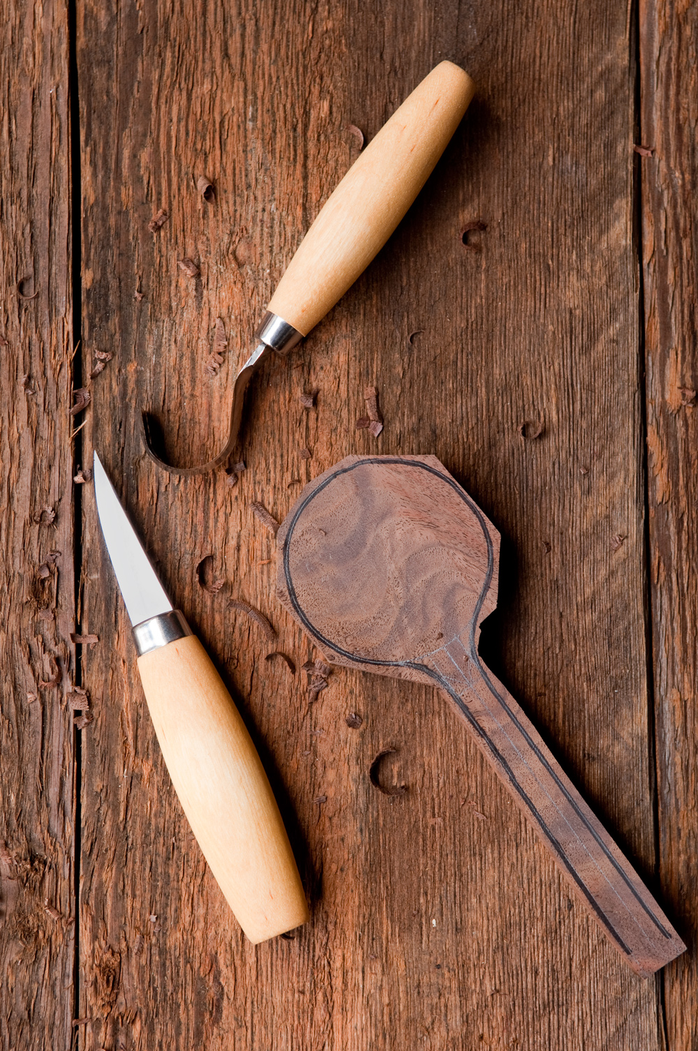 How to carve wooden spoons tools 1original