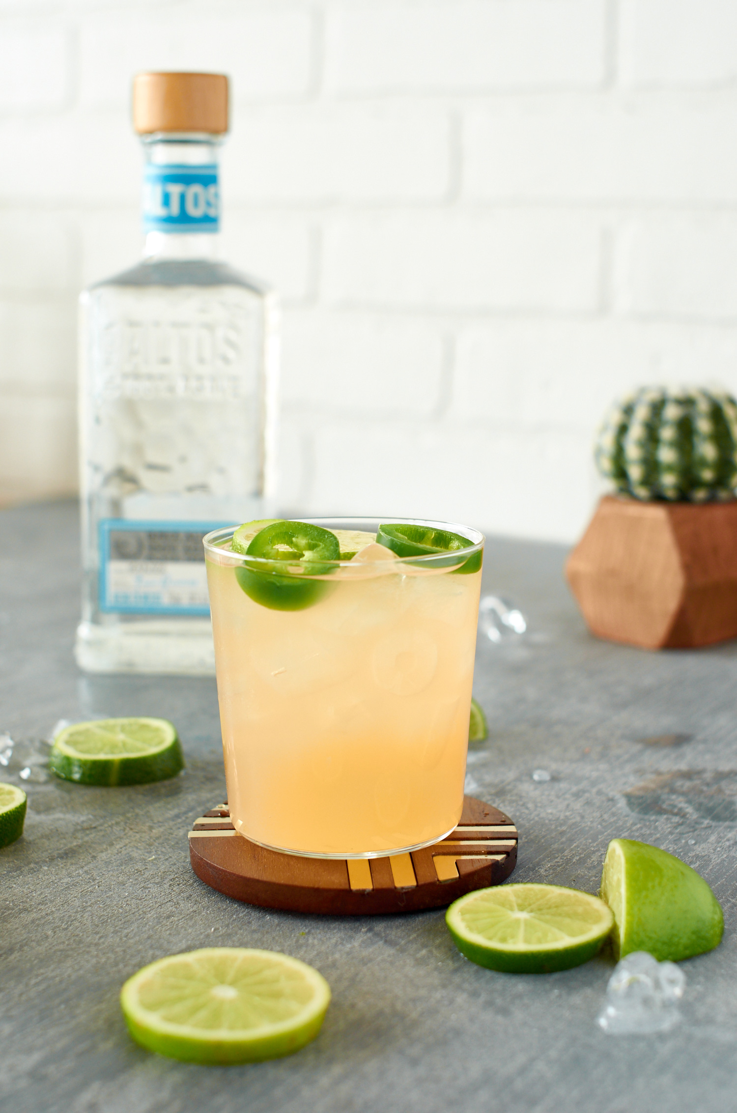 Haute Sauce grapefruit and jalapeno tequila cocktail