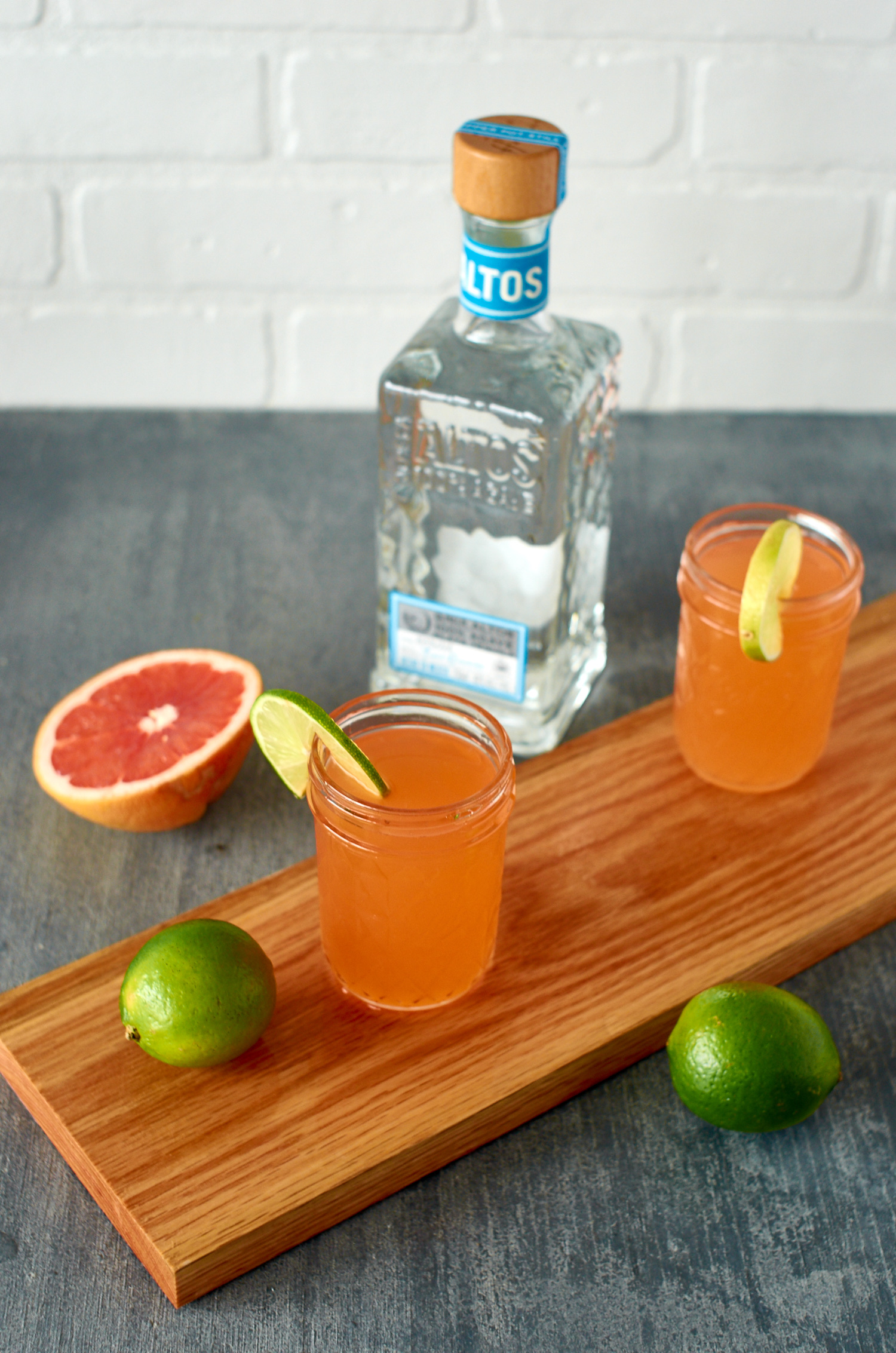campari and grapefruit tequila cocktail
