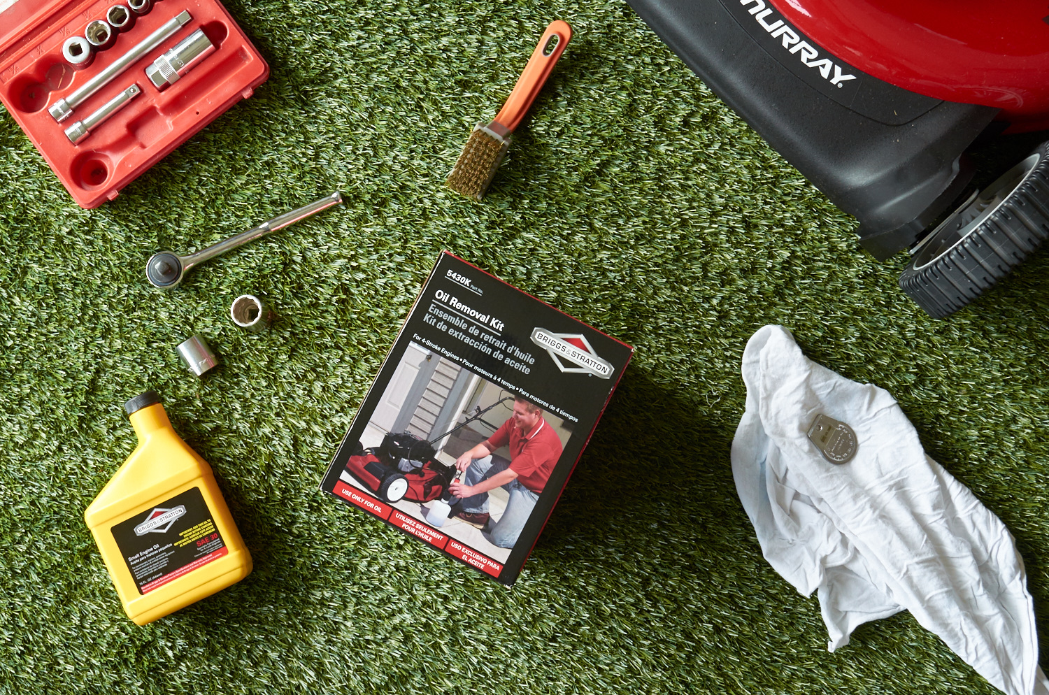 simple lawn mower maintenance for handy guys
