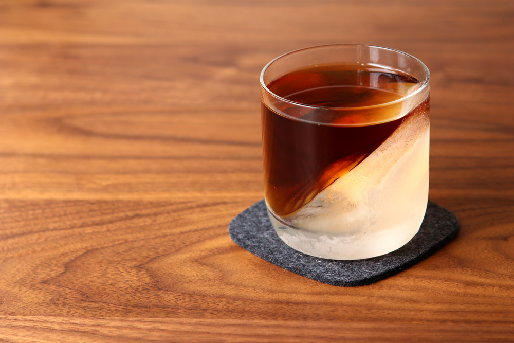 diy whiskey wedge