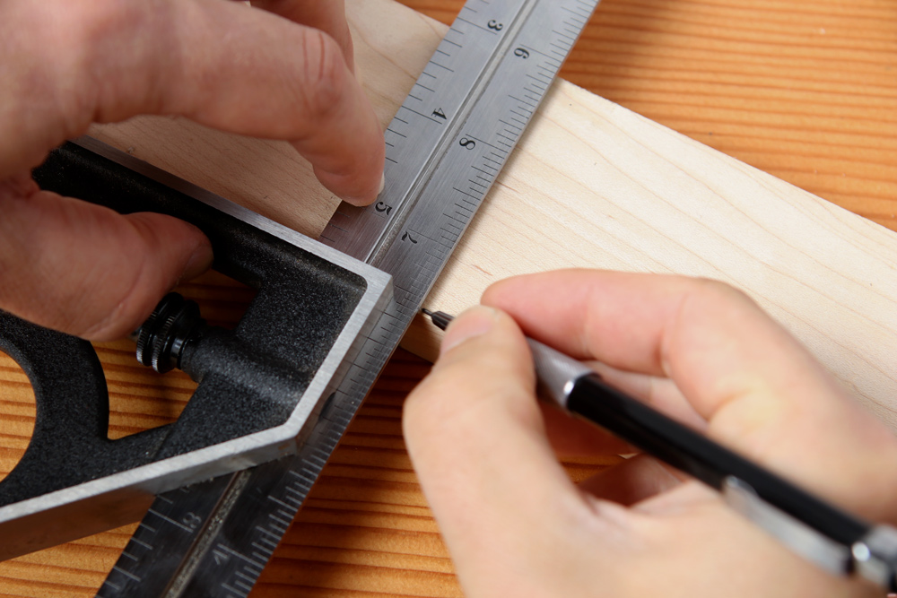 The 1-Second Trick to More Accurate Measuring and Marking for Your Woodworking Projects