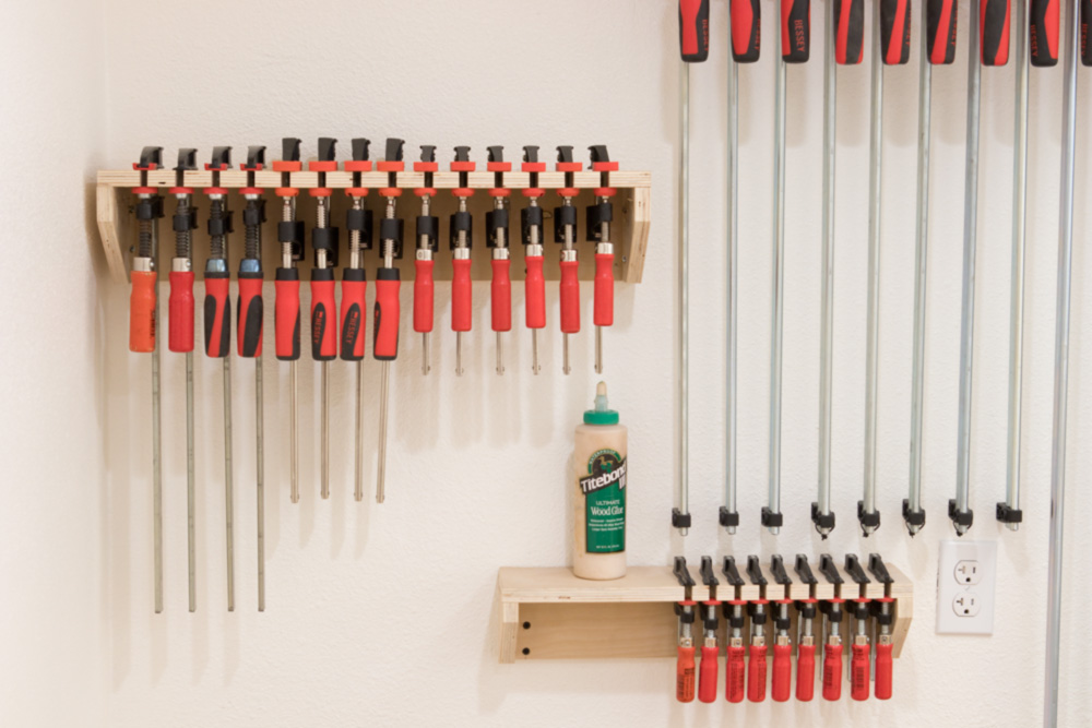 How To Make The Worlds Easiest Clamp Rack Man Made Diy Crafts