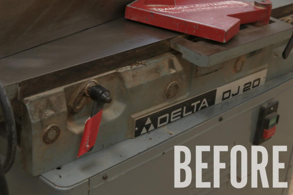 Delta dj20 jointer rehab 2original