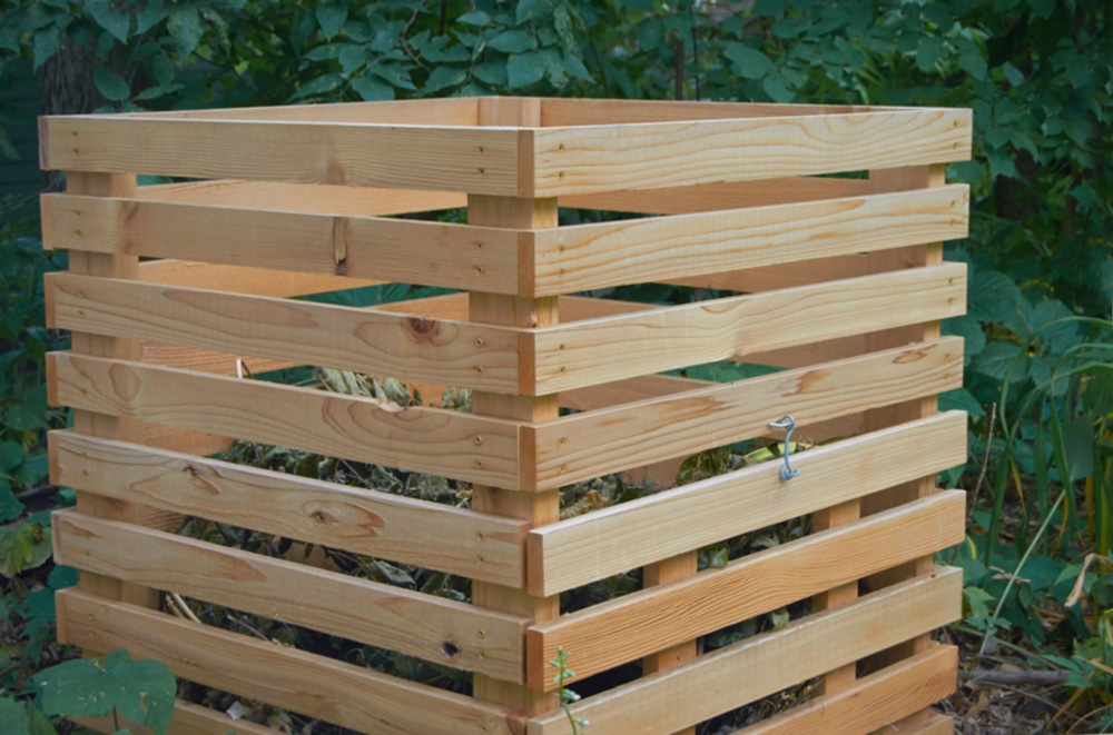 Diy modern compost bin 1original