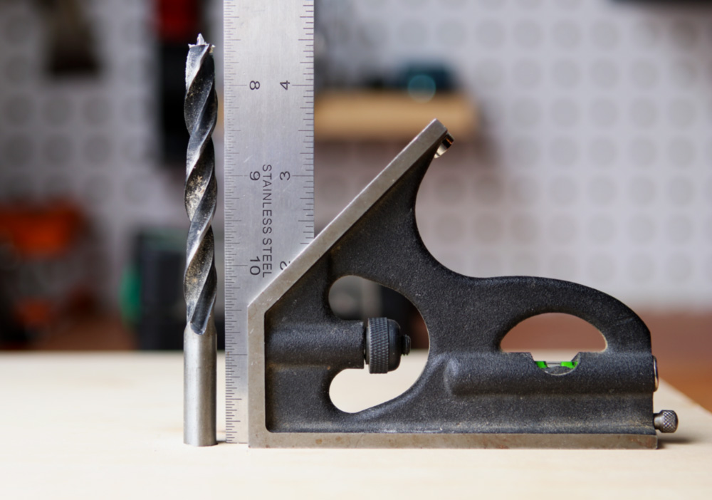 How to drill straight square holes 1original