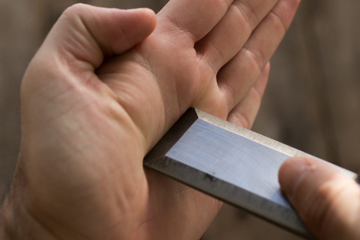 chisel sharpening - it;s dull