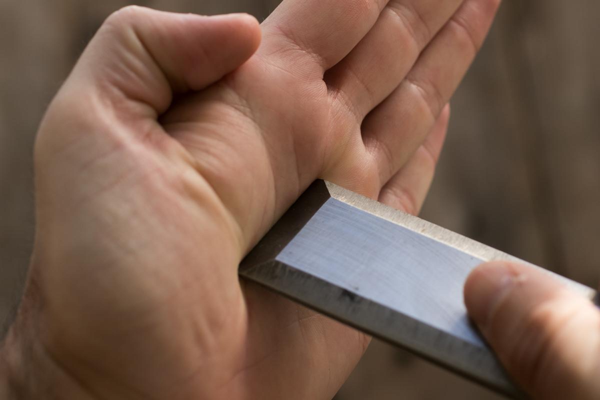 chisel sharpening - it;s dull