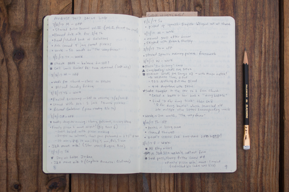 How To Start A Minimalist Bullet Journal And Get Better At